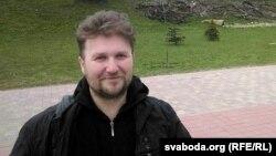 Актывіст Максім Вінярскі, архіўнае фота 18 красавіка 2017 году