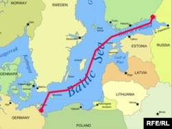 Like the first Nord Stream pipeline, the Nord Stream 2 project would use undersea conduits to bypass the Baltic states and Poland in delivering gas supplies to Europe. (file image)