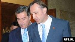 Milo Đukanović i Ranko Krvokapić, foto: Savo Prelević
