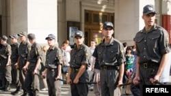 """Милиция и ОМОН пресекли акцию протеста """"Другой России"""" 31 июля"""