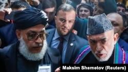 نشست سیاسیون افغانستان با هیئت طالبان در مسکو