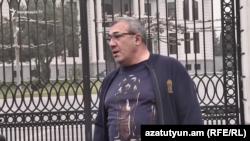 Նախկին պատգամավոր, Հայաստանի ֆուտբոլի ֆեդերացիայի նախկին նախագահ Ռուբեն Հայրապետյան, արխիվ