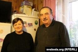 Яўген Ярашэвіч з жонкай Хрысьцінай