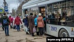 Общественный транспорт в Севастополе