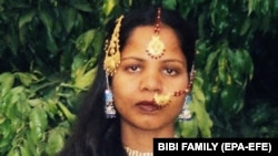 Asia Bibi had been on death row since 2010. (file photo)