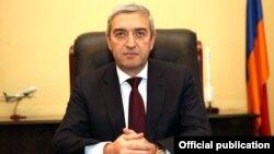 Министр транспорта, связи и информационных технологий Армении Ваан Мартиросян (архив)