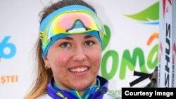 Казахстанская биатлонистка Арина Пантова.