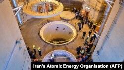 Іранскі ядзерны рэактар на поўдзень ад Тэгерану