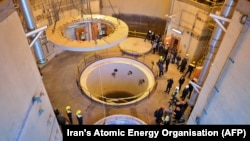 A view of the nuclear water reactor of Arak, south of the capital Tehran, December 23, 2019