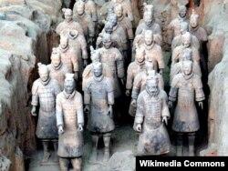 Терракотовые воины Цинь Шихуана