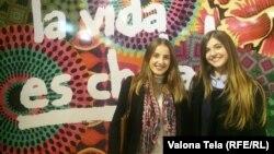 Valeza Mjeku dhe Dorina Mulla