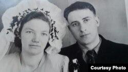 Шлюбны Здымак Яніны Грынцэвіч і Міхаіла Сташко.