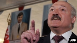 "President Alyaksandr Lukashenka had denounced opposition leaders as ""cowards."""