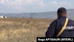 19 октября югоосетинские и российские силовики в селе Атоци возобновили процесс т.н. бордеризации