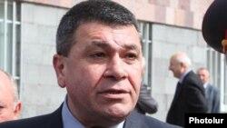 Начальник полиции Армении Владимир Гаспарян (фотография из архива)