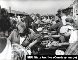 A market in Odesa in 1963
