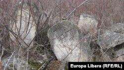 Cimitirul evreiesc de la Rezina