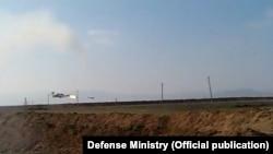 Azerbaijan -- Armenian helicopter shot down in Karabakh - 12Nov2014