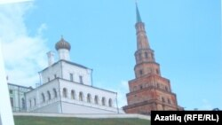 """Сөембикә манарасы белән """"Дворцовская церковь"""""""