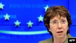Представитель Евросоюза по международным делам Кэтрин Эштон