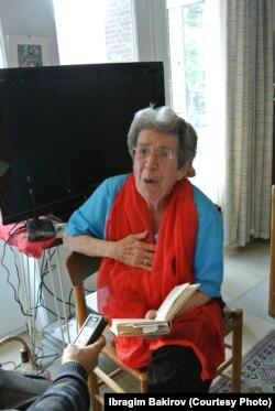 Проф. Голди Бланкофф-Скарр. Брюссел, 2014-жыл.