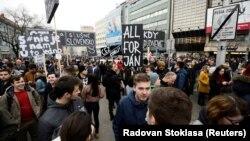 Протести у Словаччині після вбивства журналіста-розслідувача, 9 березня 2018 року