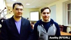 Марат Сәфәров (с) һәм Дмитрий Опарин (у)
