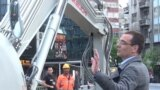 grab: belgrade construction protest