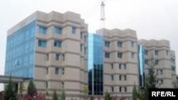 Tajikistan - The new building of National Bank of Tajikistan in Dushanbe