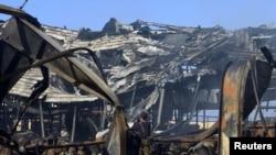 Либиянең хәрби диңгез корылмасы һөҗүмнән соң