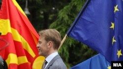 Ambasadori i BE-së në Maqedoni, Orav Avio, foto arkivi