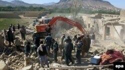 Afganistanske snage na mjestu jedne od eksplozija, Kandahar, 21. april 2015.