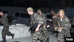 Бойцы спецподразделения «Восток» за работой