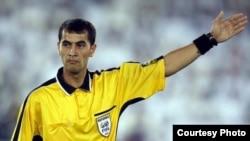 Uzbek referee Ravshan Irmatov