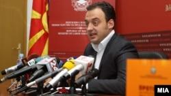 Спиро Ристовски, министер за труд и социјална политика.
