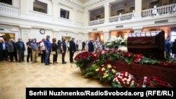 Прощальна церемонія із Борисом Патоном у клубі Кабінету міністрів, фото Сергія Нужненка