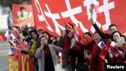 Podrška Xi Jinpingu u Pragu