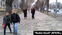 Вазъи пиёдароҳҳои Душанбе