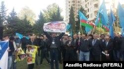 Митинг в Баку. Архивное фото