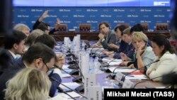 Заседание в Центризбиркоме России