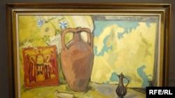 Михаил Ларионов. «Натюрморт с кувшином и иконой». Стартовая цена на аукционе Sotheby's 12 июня 2 - 3 миллиона долларов.