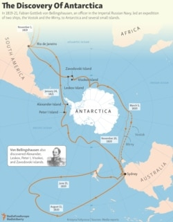 INFOGRAPHIC: The Discovery Of Antarctica