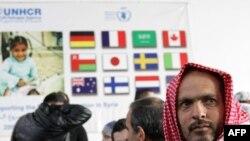 لاجئون عراقيون في سوريا