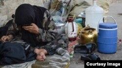 فقر در ایران ( عکس از آرشیو)