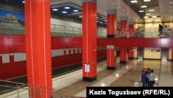 Две новые станции метро в Алматы