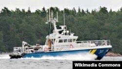 Корабль береговой охраны Швеции.