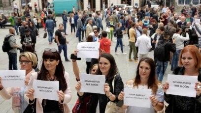 'Novinarstvo nije zločin'