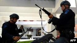 Indoneziýanyň polisiýa güýçleri.