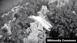 Уламки літака Douglas DC-9 (ілюстративне фото)