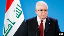 Iraqi President Fuad Masum (file photo)